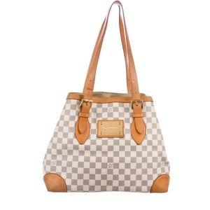 Authentic Louis Vuitton Hamstead Damier bag